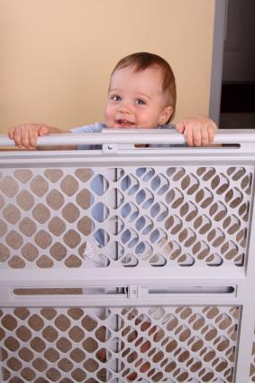 create safe boundaries with baby gates