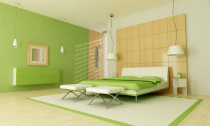 Green Bedroom Colors best color to paint a bedroom