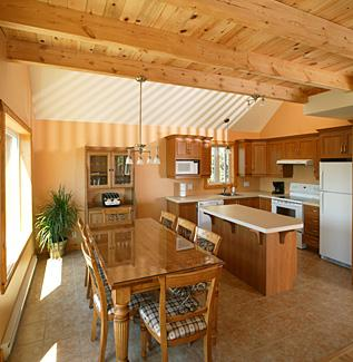 Contemporary Log Cabin Style