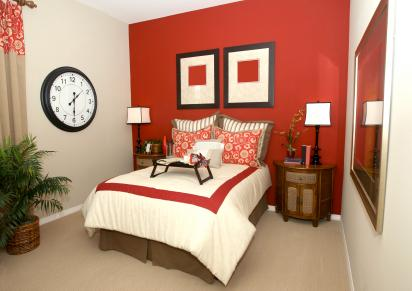 accent walls in bedroom. painted accent wall Accent Walls for Bedrooms  LoveToKnow