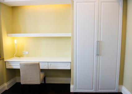 closet office conversion