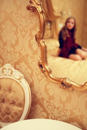 boudoir style room
