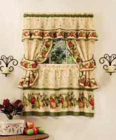 Apple Orchard Country Cafe-Style Curtains