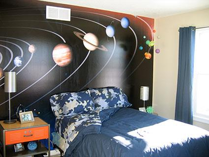 science themed bedroom d 233 cor ideas lovetoknow