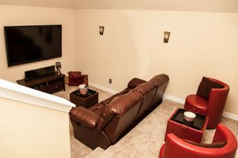 Home Theater Stadium Seating Option