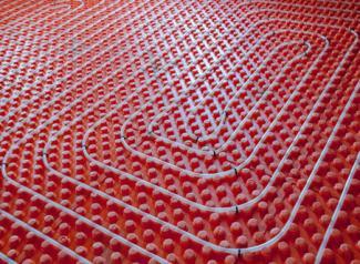 Radiant heat floors