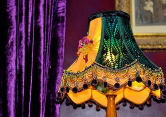 bohemian style lamp shade