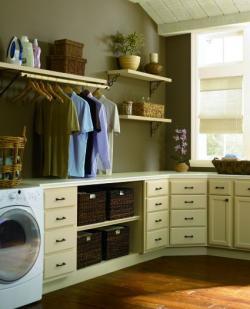BEHR laundry room design