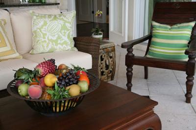 Fruit Bowl On Coffee Table