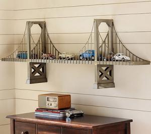 Bridge Shelf at Pottery Barn Kids