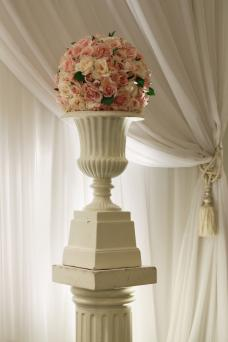 Urn with Roses