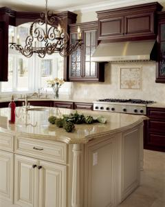 Lovely Kitchen With Mismatched Cupboards