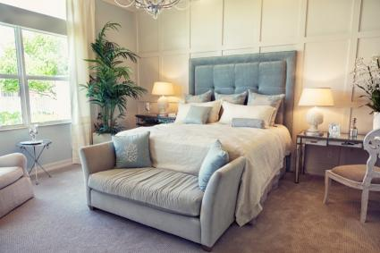 Beautiful interior bedroom