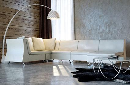 textured walls modern living room