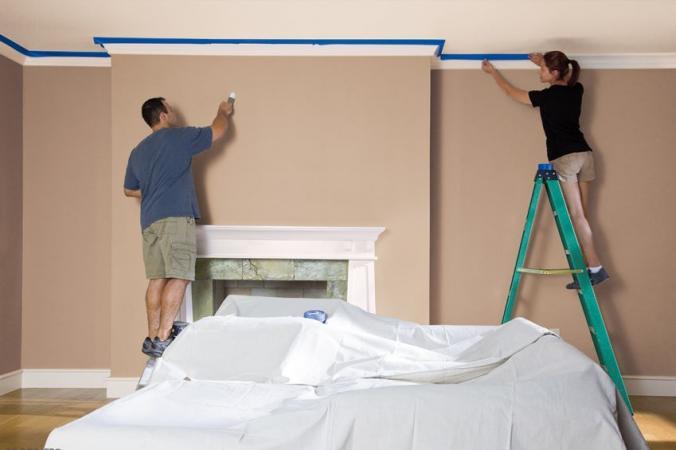 BEHR preparing to paint