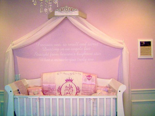 Disney Princess Nursery Decor
