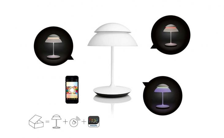 Philips 798843 Hue Beyond Table Lamp, Starter Kit