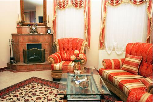 antique chic corner fireplace