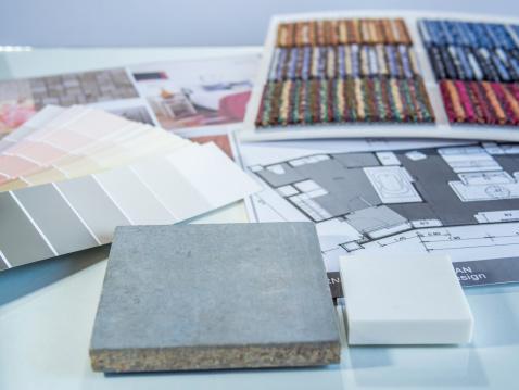 Interior color samples