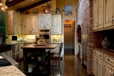 Rustic Kitchen on Country Decorating Catalogs
