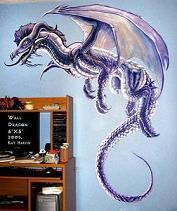 Dragon Mural by Kat Harp
