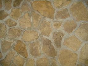 Many choices for stone fireplaces.
