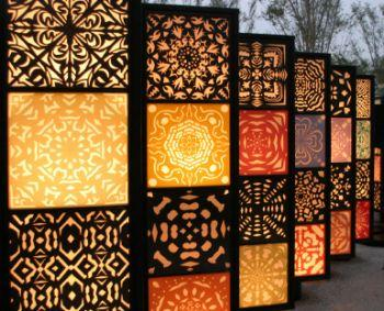 Decorative window screens
