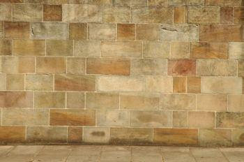 Use a chalk line to layout stone tile.