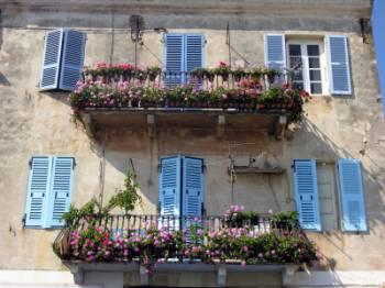French country balcony options for French balcony design