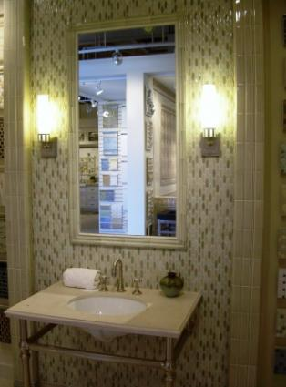 Gallery For Tiled Framed Bathroom Mirrors
