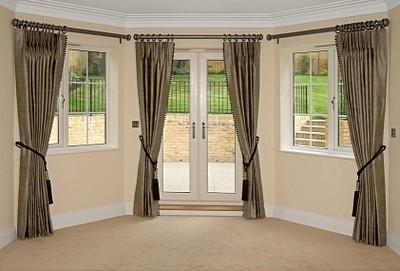 Wooden Curtain Rods Add A Touch Of Class And Elegance To Any Window