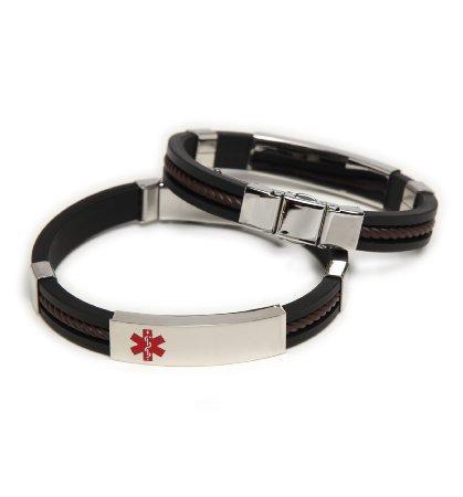 Men S Rubber Bracelets Slideshow