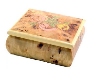 Handmade wood jewelry box  sc 1 st  Jewelry - LoveToKnow & Handmade Wooden Jewelry Box | LoveToKnow Aboutintivar.Com