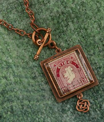 Eire Map Necklace