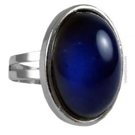 You can usually purchase mood rings at your local Claire's Boutique ...