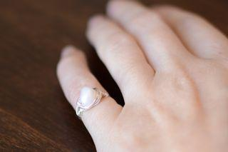 finished simple ring
