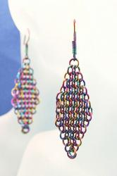Niobium Earrings