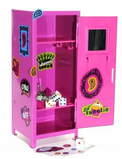 Girl Talk PINK Mini Locker