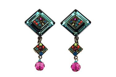 Firefly La Dolce Vita Diagonal Drop Post Earring