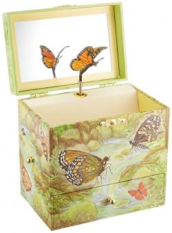 Monarchs Musical Jewelry Box