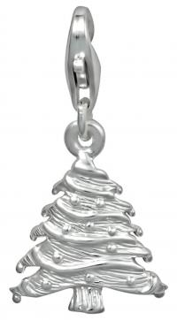 Sterling silver Christmas tree charm at Amazon.com