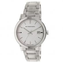 Burberry large check steel watch at Amazon