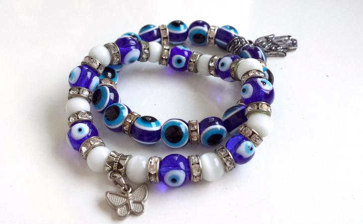 Beaded Charm Bracelet