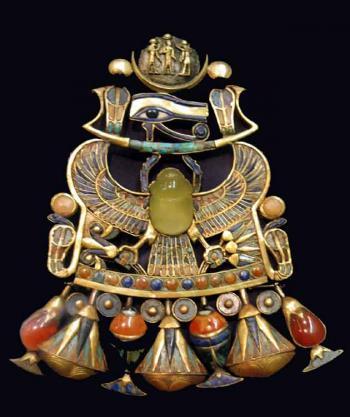 Pectoral, Tutankhamun Mask, Egyptian Museum in Cairo
