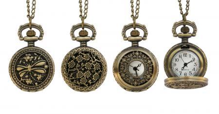 Victorian Pocket Watch Necklace