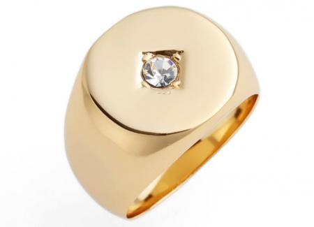 Tulum Signet Ring by JULES SMITH