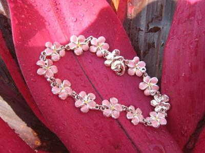 Plumeria jewelry from Hawaii