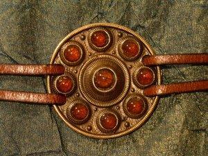 Medieval medallion necklace