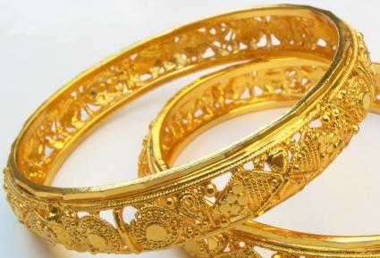 Gold Bangle Bracelets