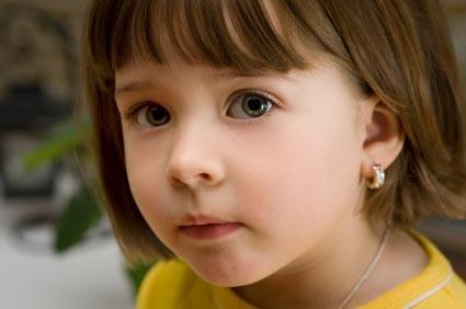 Girl's clip on earrings